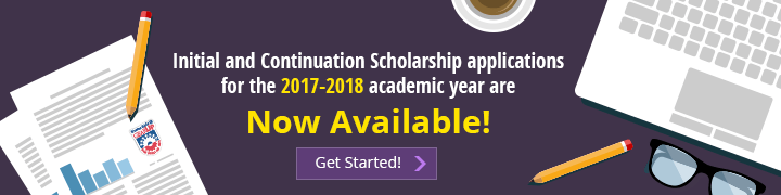 Scholarship applications available for 2017-2018